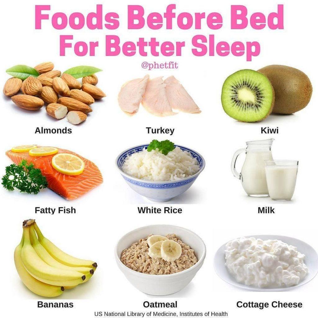 موادغذایی مفید برای خواب بهتر